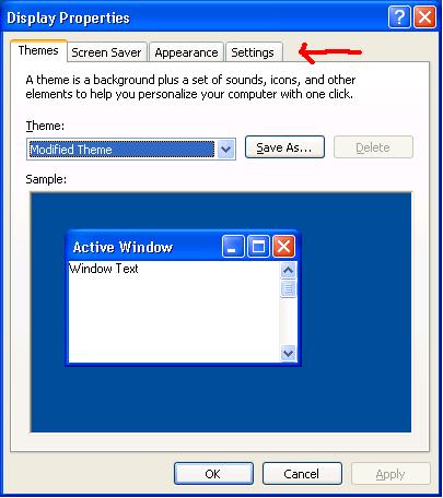 desktop tab is missing