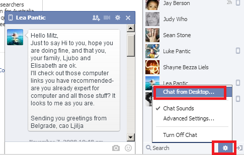 facebook chat in bigger window