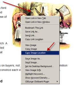 image URL in Firefox