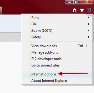 how to delete temporary internet files