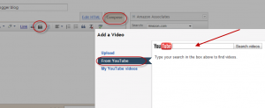 embed youtube video blogger blog