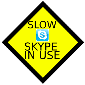 Skype slowing down