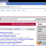 Use Google Groups