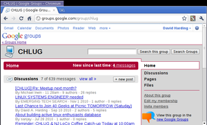 Use Google Groups