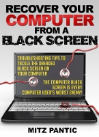 computer black screen ebook