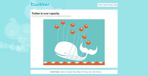 twitter overload
