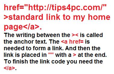 html link basics