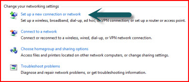 setup outgoing connection vpn